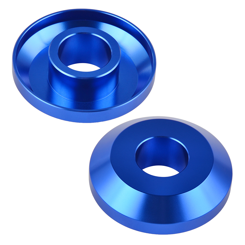 Billet Front Wheel Hub Spacers Kit For Yamaha YZ125 YZ250 YZ250X YZ250F YZ450F