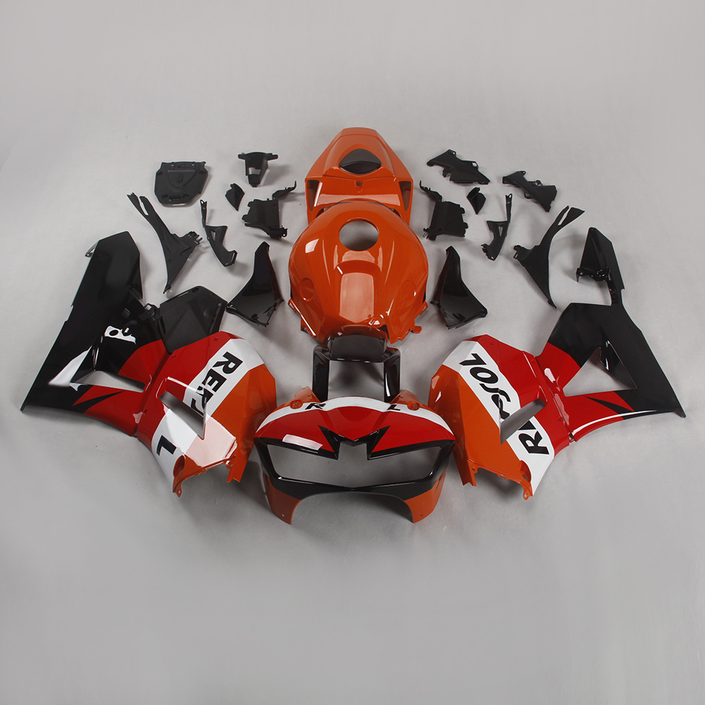 Aluminium Fairing Kit Kawasaki Z750 Orange