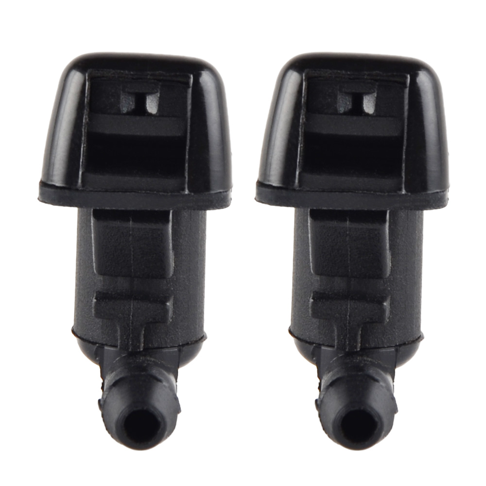 Pair Windshield Washer Sprayer Nozzle Jet For Ford Edge
