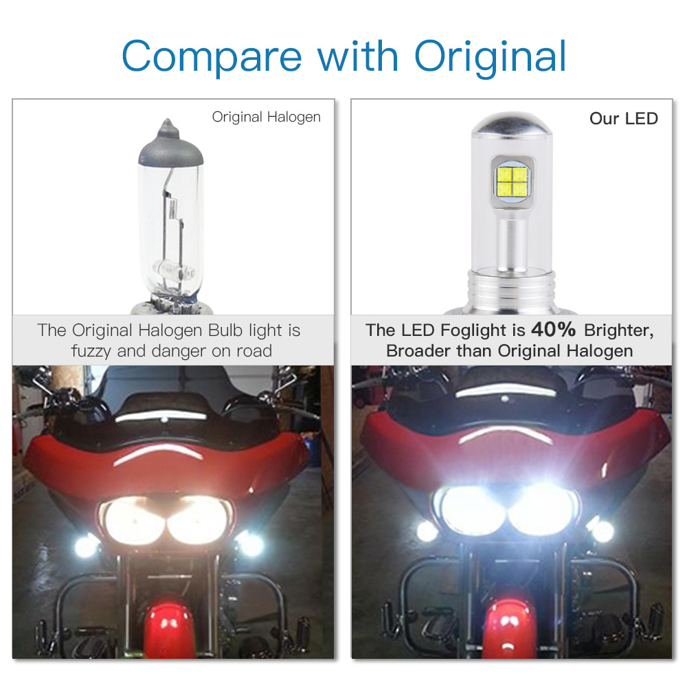 H11 H9 H8 Led Headlight Bulbs 80w For Ninja Zx6rzx10rzx14 Rsuzuki 2006 Zx 14 Wiring Diagram Gsxr1000