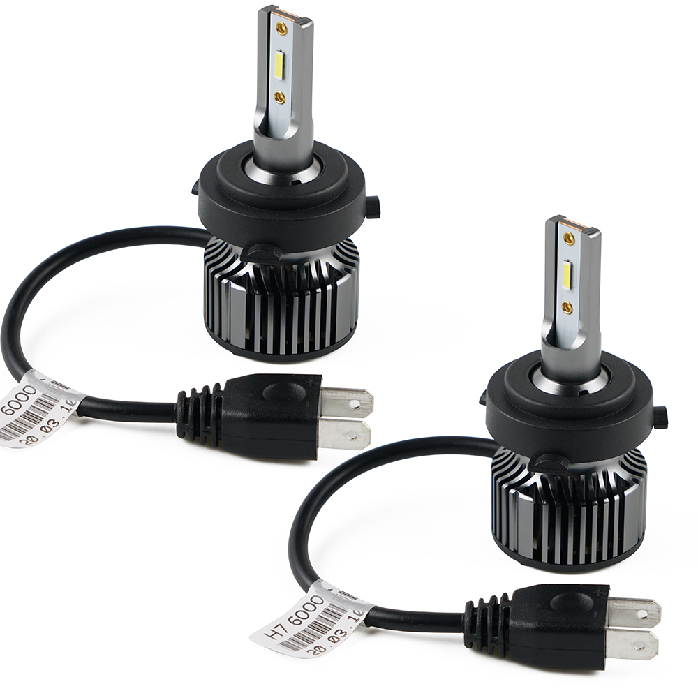 H4 50W Adjustable LED Headlight Bulbs Kit 6000 Lumens Canbus Fits Kia