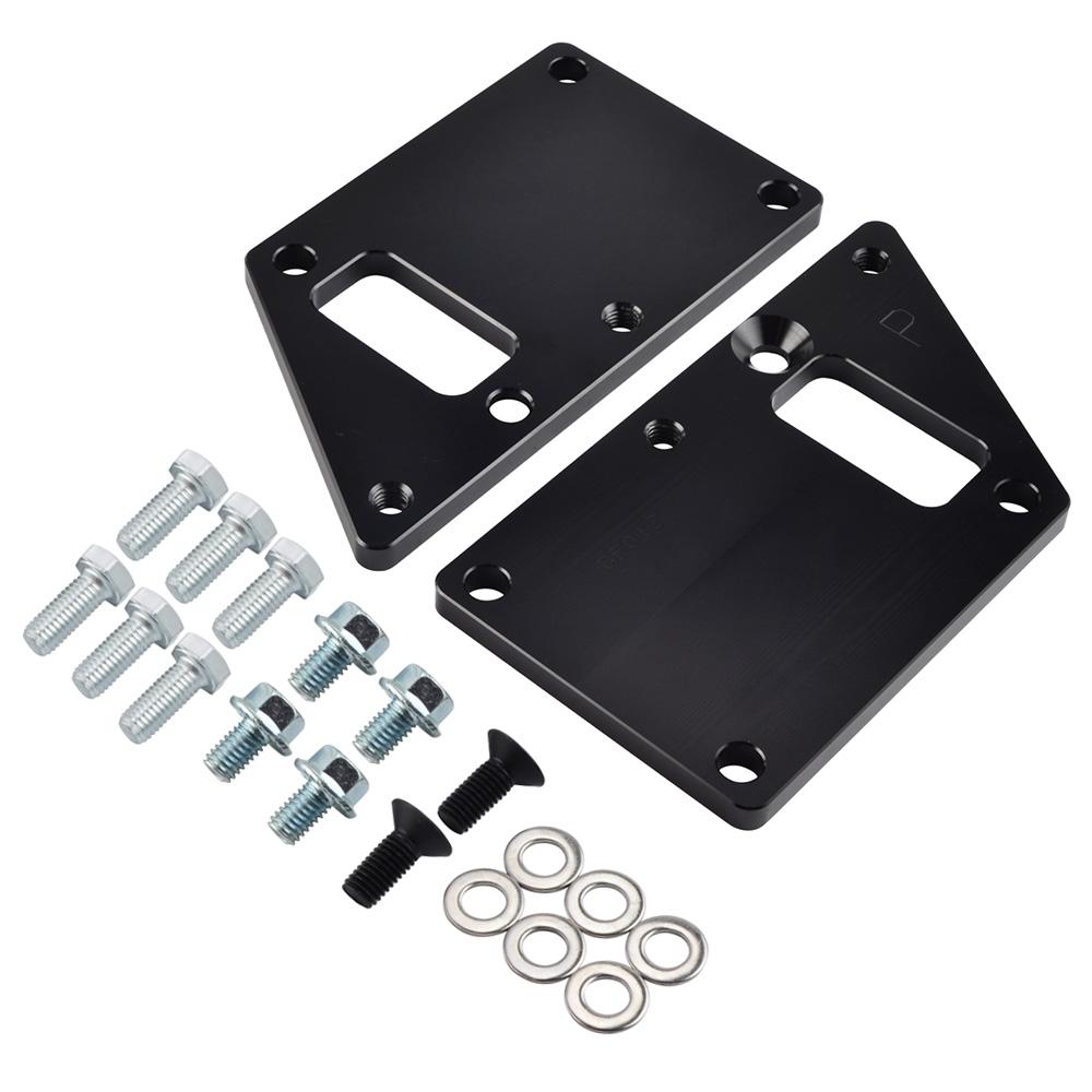 For Chevrolet LS1 Conversion Motor Mount Adapter Plates LS Swap Billet Aluminum