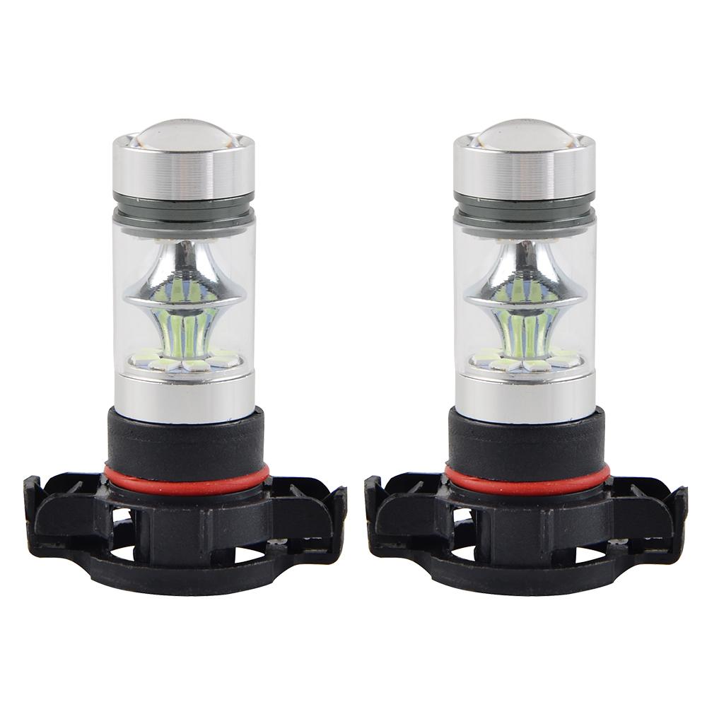 2018 Gmc Canyon Marine Blue: Cree 5202 H16 PS24W LED Fog Light 8000K Bulb For GMC