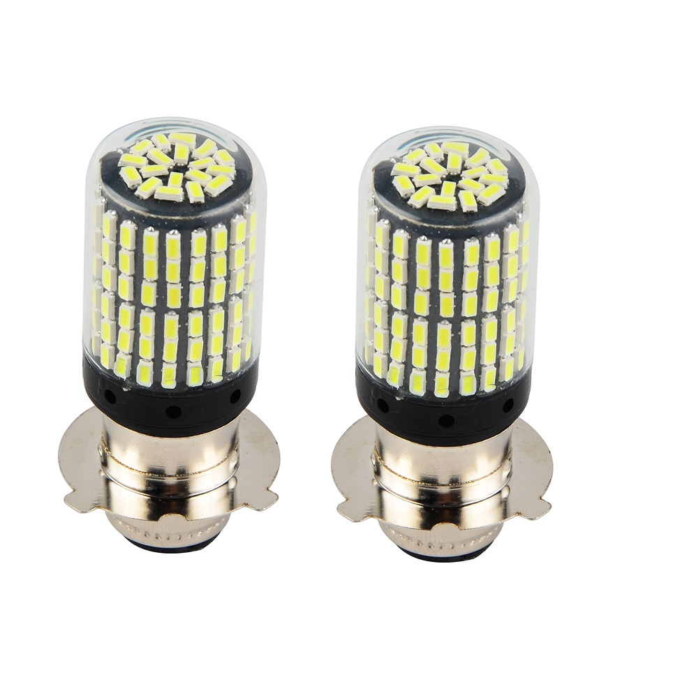 For Suzuki LT-160 Quadrunner 2003-2004 LED Headlight 2x 50W White Bulbs Kit