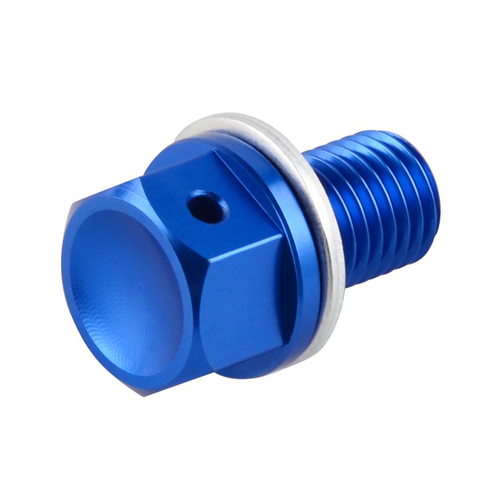 Magnetic Oil Drain Plug Bolt Screw fits YAMAHA YZ125//YZ250F//YZ450F//WR250F//WR450F