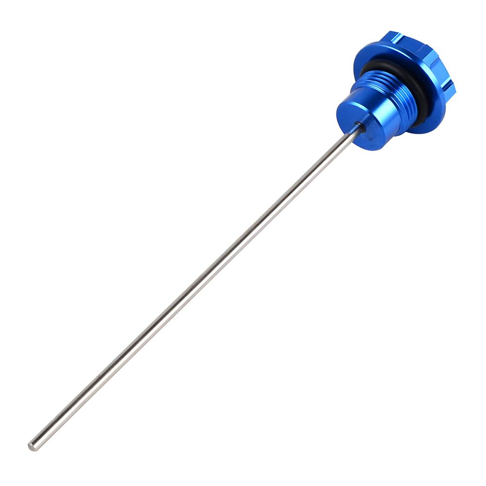 Newsmarts CNC Aluminum Dip Stick Engine Oil Dipstick Fit For Suzuki DRZ400 2000-2004 DRZ400E 2000-2007 DRZ400S 2000-2020 DRZ400SM 2005-2020