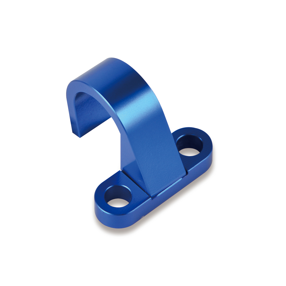 A Pair Brake Line Clamp Holder CNC Anodized For Yamaha WR250FK 2019,WR250FX 2008