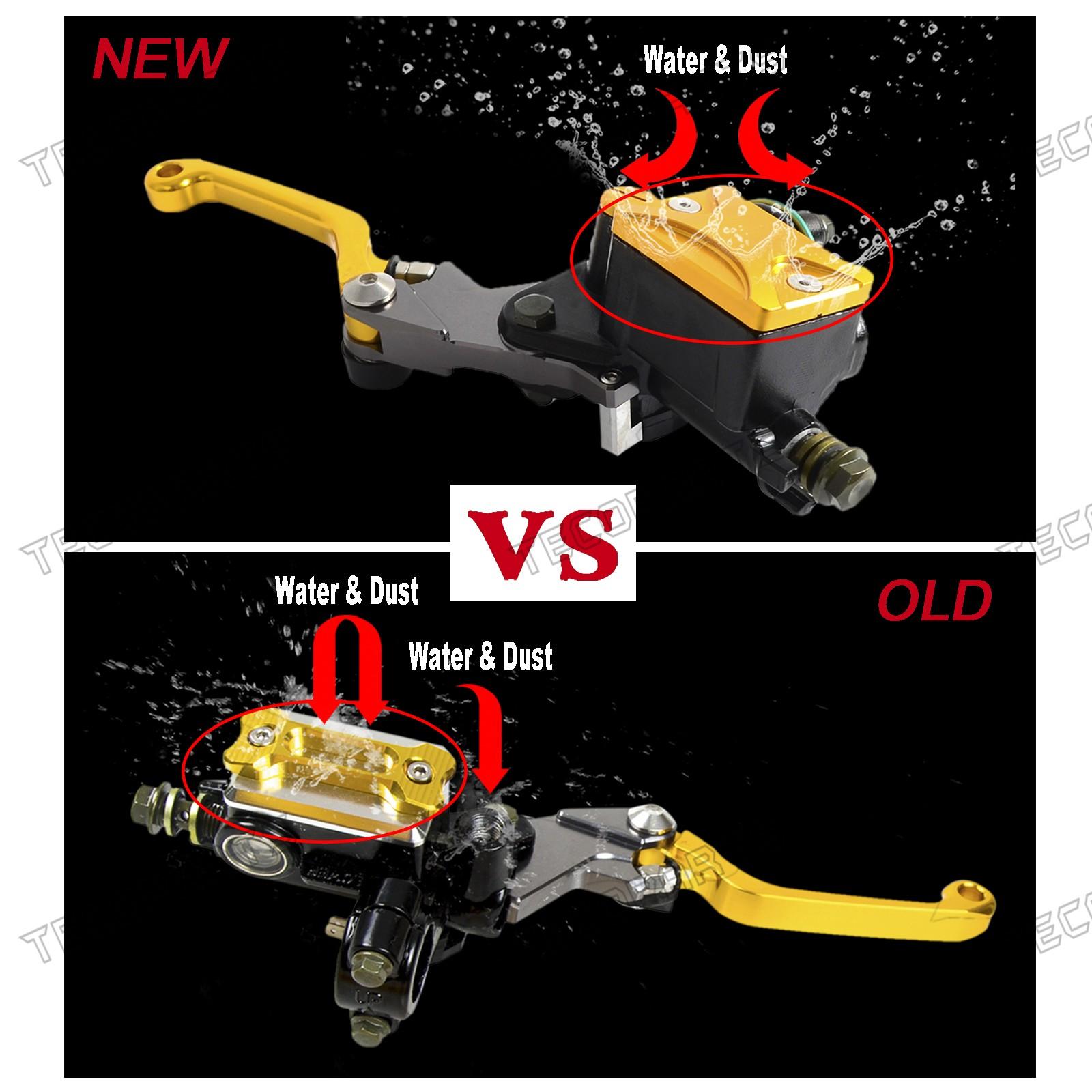 For Honda GROM MSX125 PCX150 HORNET 250 Brake Master Cylinder Reservoir Cover